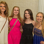 Lindsey Rumrill, Stephanie Roberts, Emily Stuber and Leighann Lutes.