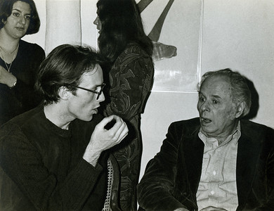 James Barth and George Sugarman (Mary Whitten and Pat Lay in background)_74