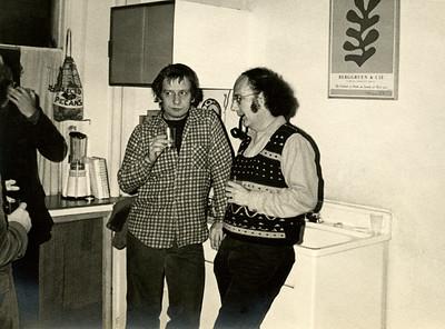 Kes Zapkus and Harvey Quaytman. _74