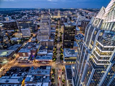 Over Congress Avenue 9