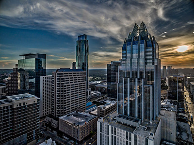 Austin Skyscraper Row 1