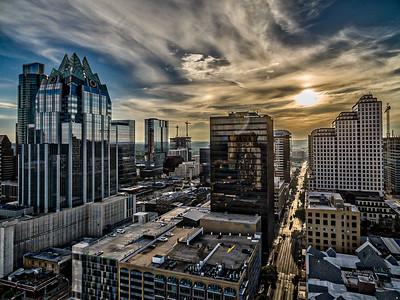 Austin Skyscraper Row 2