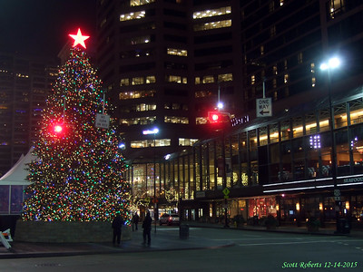 Downtown Cincinnati Christmas 2015