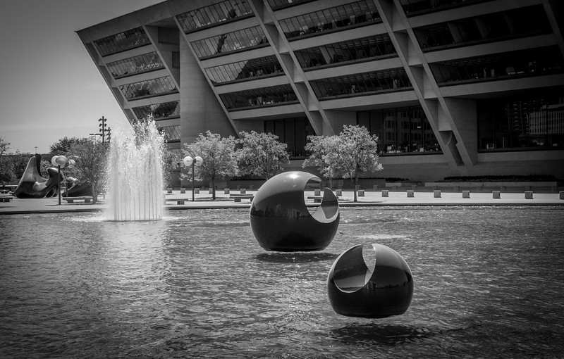 Dallas, TX City Hall - Photo by Randy Stewart - www.NoPhotosAllowed.com