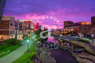GVL Riverwalk Sunset Summer 2017 ARP 2