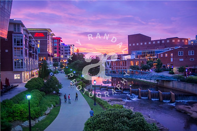 GVL Riverwalk Sunset Summer 2017 ARP 5