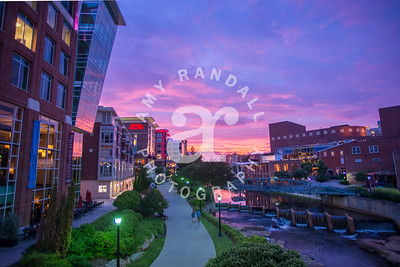 GVL Riverwalk Sunset Summer 2017 ARP 4