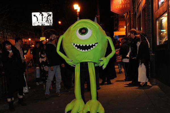 Downtown Kent Halloween 2009