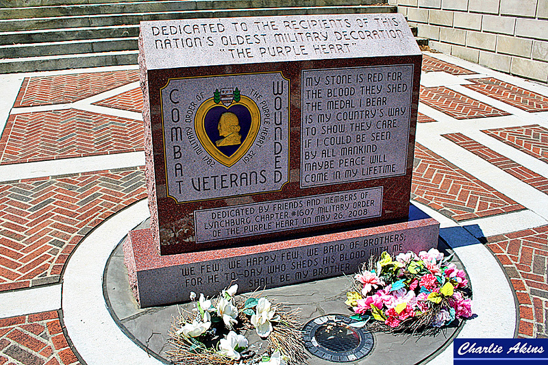 Memorial to the veterans