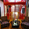 Stairway at Lynchburg River Lofts