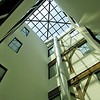 Very impressive skylight at Lynchburg River Lofts