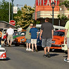 2 1/2 year old Dalton Wease takes a ride in his VW Bus on Jefferson Avenue during the Downtown Party Friday afternoon which kicks off Mid-America Motorworks'19th Annual Funfest for Air-Cooled Volkswagens.<br /> Chet Piotrowski Jr. photo/Piotrowski Studios