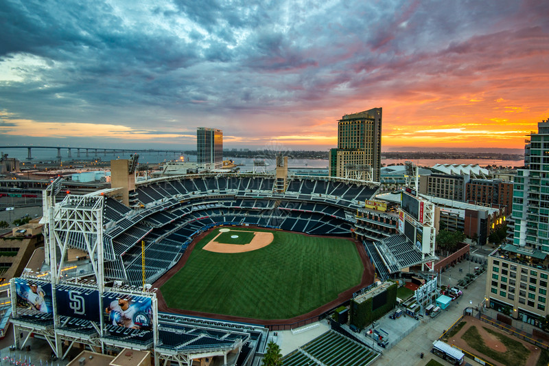Petco Park Sunset