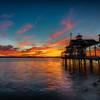 Pier Cafe Sunset