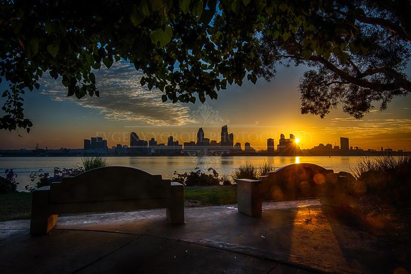 Bayfront Park Sunrise