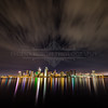 San Diego Skyline Long Exposure