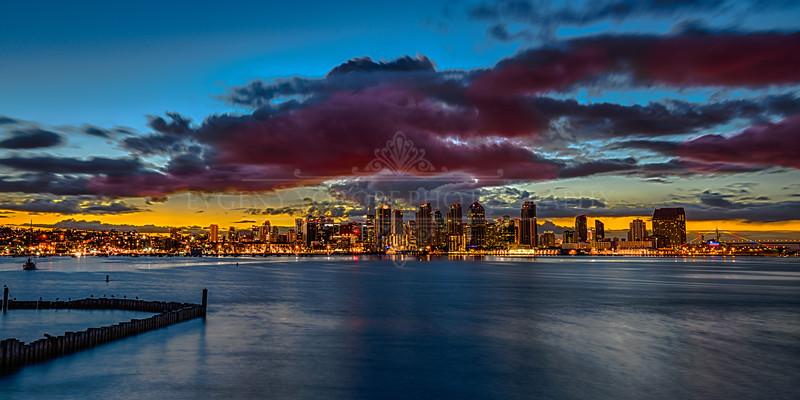 Stormy San Diego Sunrise