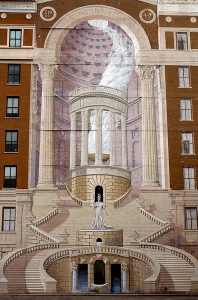 Cincinnatus Mural by Richard Haas