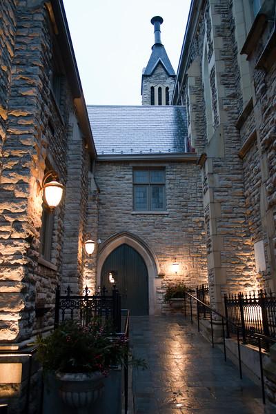 Presbyterian Church Courtyard