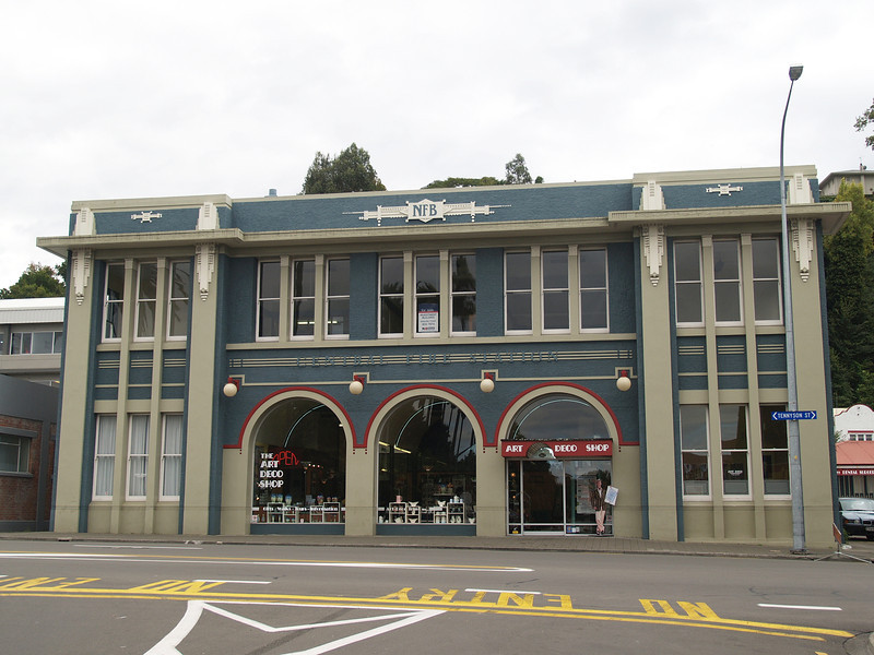 Napier rebuilt in 1932 after a massive earthquake