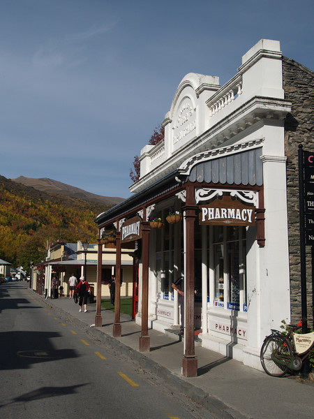 Arrowtown - an old gold mining village