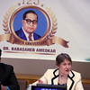 Helen Clark former 3 time Prime Minister of New Zealand and Administrator of UN Development program paying tribute  Dr. Ambedkar on the occation of 125th Birth  Anniversary at United Nations  in NY on 13th April 2016....pic Mohammed Jaffer-SnapsIndia