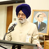Charanjit Atwal Speaker Punjab Assembly  paying tribute to Dr.Ambedkar on the occation of 125th Birth  Anniversary at United Nations  in NY on 13th April 2016, ,,,,,pic Mohammed Jaffer-SnapsIndia