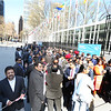 Hundureds of Indian Americans lineup to pay tribute  Dr. Ambedkar on the occasion of 125th Birth  Anniversary at United Nations  in NY on 13th April 2016,..pic Mohammed Jaffer-SnapsIndia