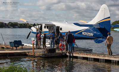 Smaller float plane to Brooks!