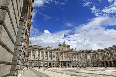 The majestic Royal Palace of Madrid