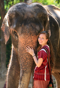Please see Slideshow 3, Elephant Owners for a Day in Thailand