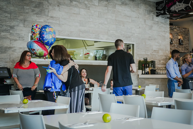 Birthday celebration at Dr. Limón Ceviche Bar in Kendall