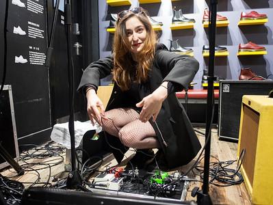 Jess setting up