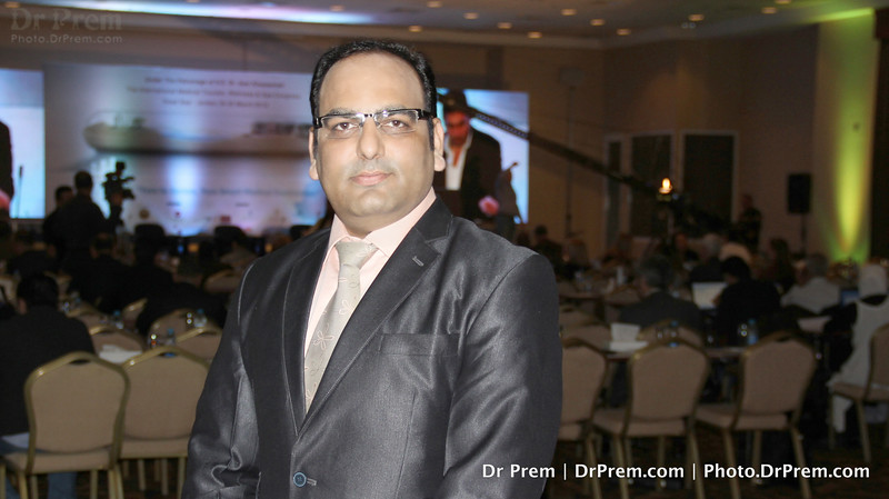 Dr Prem Jagyasi Gears Up To Deliver A Presentation At Jordan
