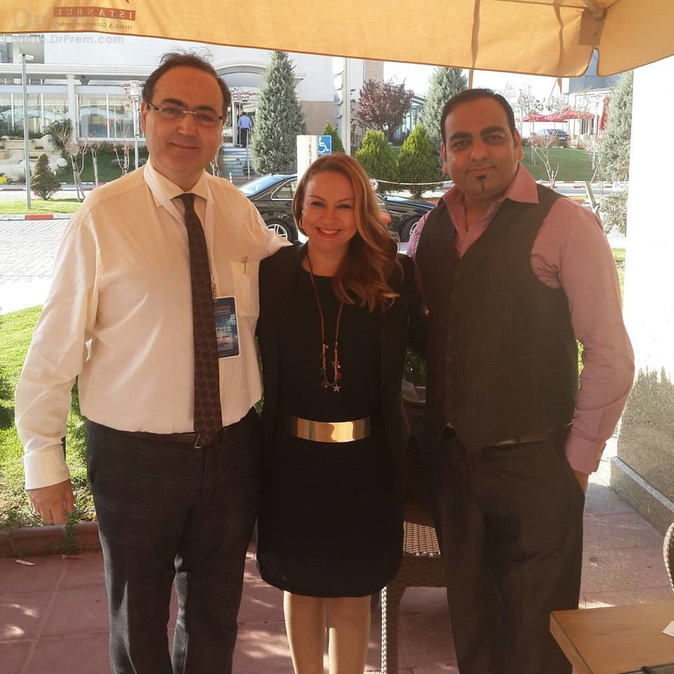 Dr Prem With Dr Mehmet Hezarci And Dr Ozlem Kurt