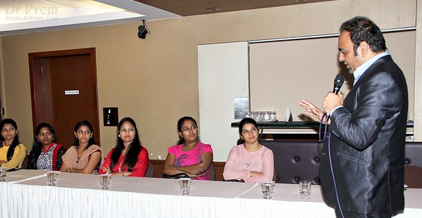 Corporate workshop by Dr Prem in Mumbai
