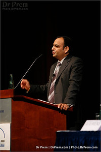 Much To Do In Munich--Dr Prem Jagyasi At A Conference