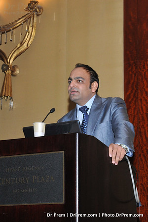 Dr Prem SPeaking in USA Conference 10