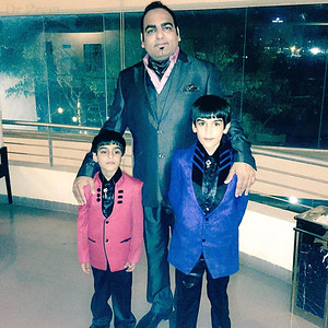 Dr Prem With His Sons