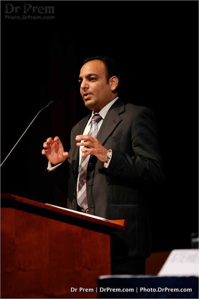 Dr Prem Speaking in a conference at Munich - Germany -004