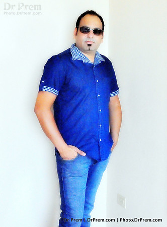Dr Prem In Blue