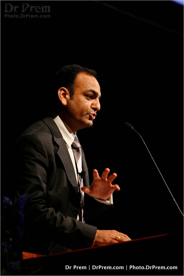 Dr Prem Speaking in a conference at Munich - Germany -007