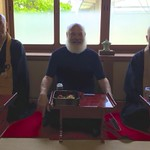 It was an honor to visit and speak with senior monks of the Myoshin-ji Temple in Kyoto, the largest Rinzai Zen Temple in Japan.