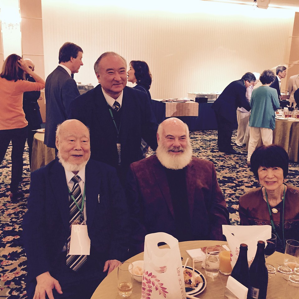 Kazuhiko Atsumi, MD, PhD, is a cardiac surgeon, biomedical engineer, a member of the Science Council of Japan, and a Professor Emeritus of Tokyo University. He is also the President, the Society for Integrative Medicine, Japan (IMJ). Some call him the Japanese Dr. Weil! It was an honor to meet him.