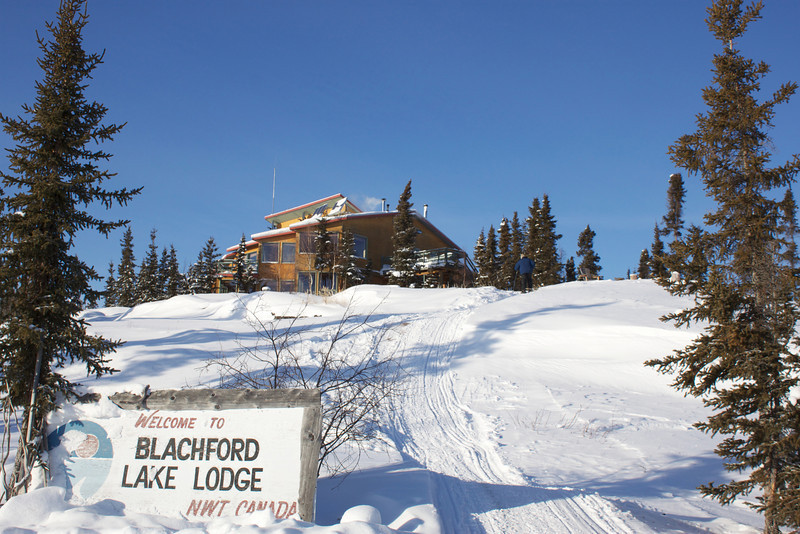 Another view of Blachford Lake Lodge