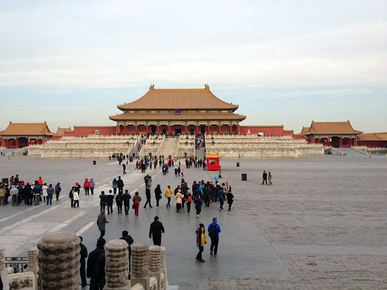 I'm still going through photos that friends and I took in China, including these of the Forbidden City in Beijing. Built in the 15th century, it was the imperial palace compound from the Ming to the end of the Qing Dynasties. Extraordinary!