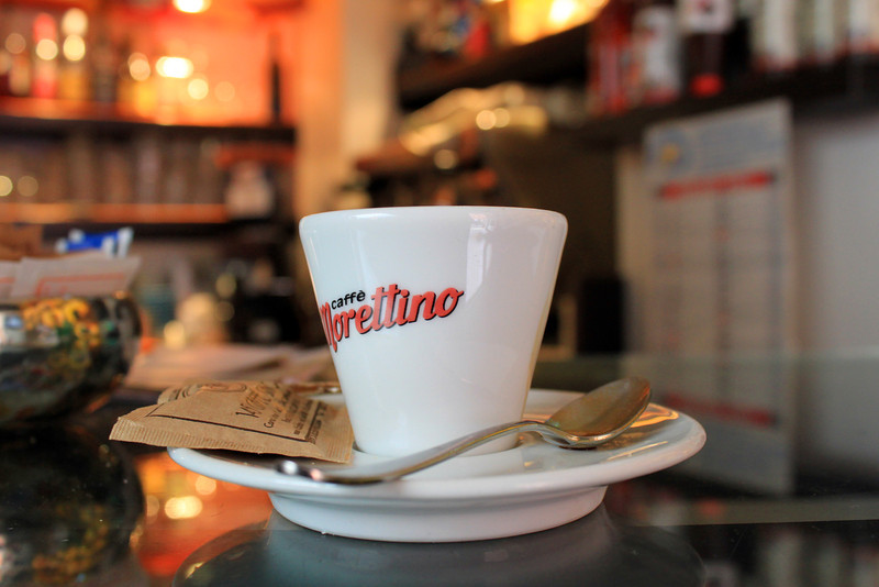 Sicilians love their café (espresso) as much as they love their pastas.