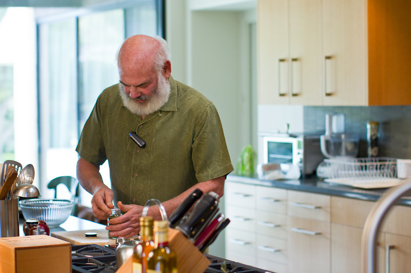 """Tracking down ingredients. I prefer to have my ingredients mise en place (""""put into place"""") before I begin preparing a recipe."""