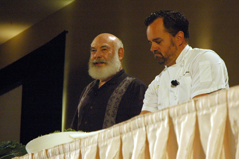 Food presentation with True Food Kitchen head chef Michael Stebner