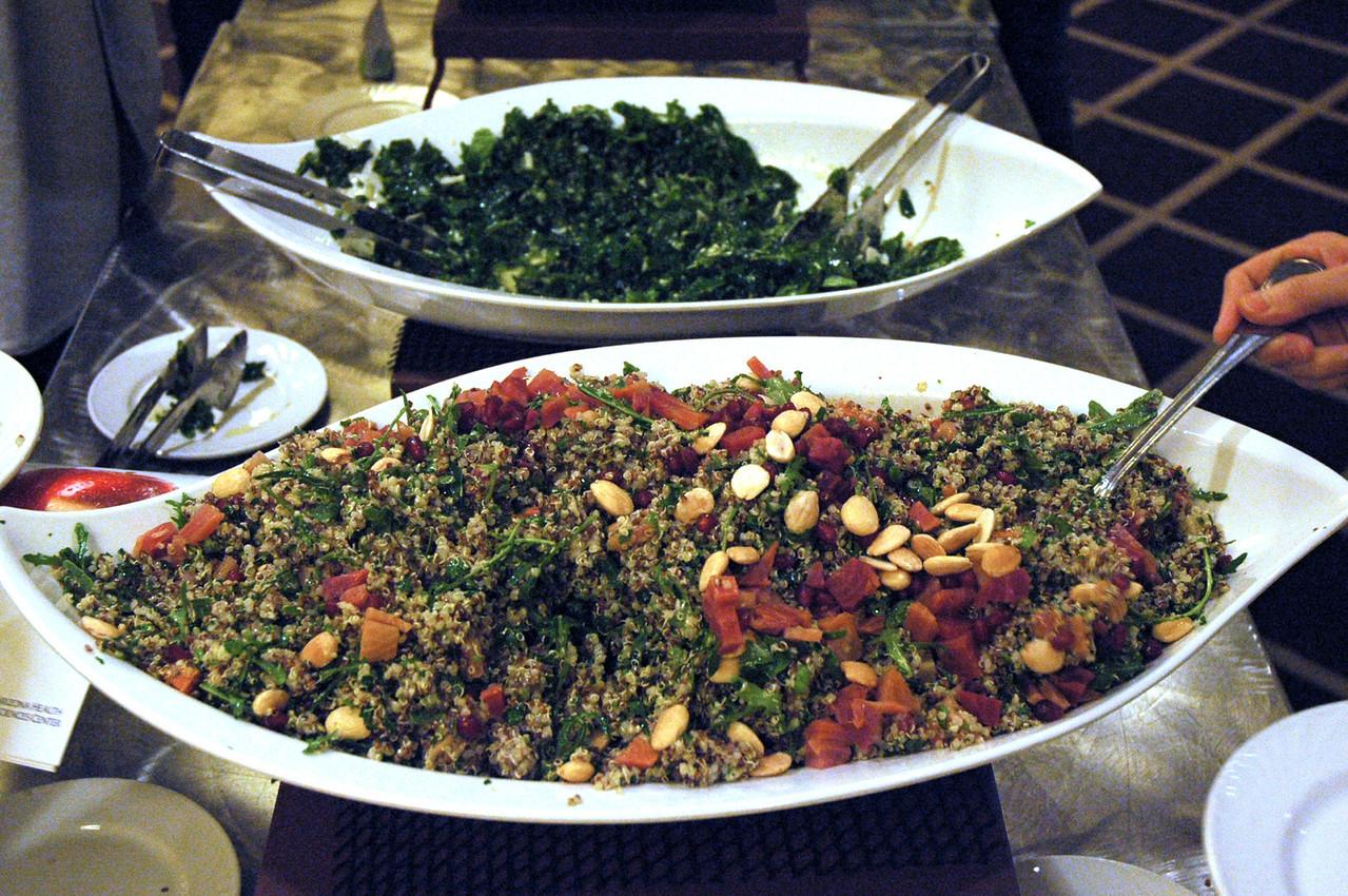 "Quinoa tabbouleh, see the recipe here: <a href=""http://www.drweil.com/drw/u/RCP02412/Quinoa-Tabbouleh.html"">http://www.drweil.com/drw/u/RCP02412/Quinoa-Tabbouleh.html</a>"